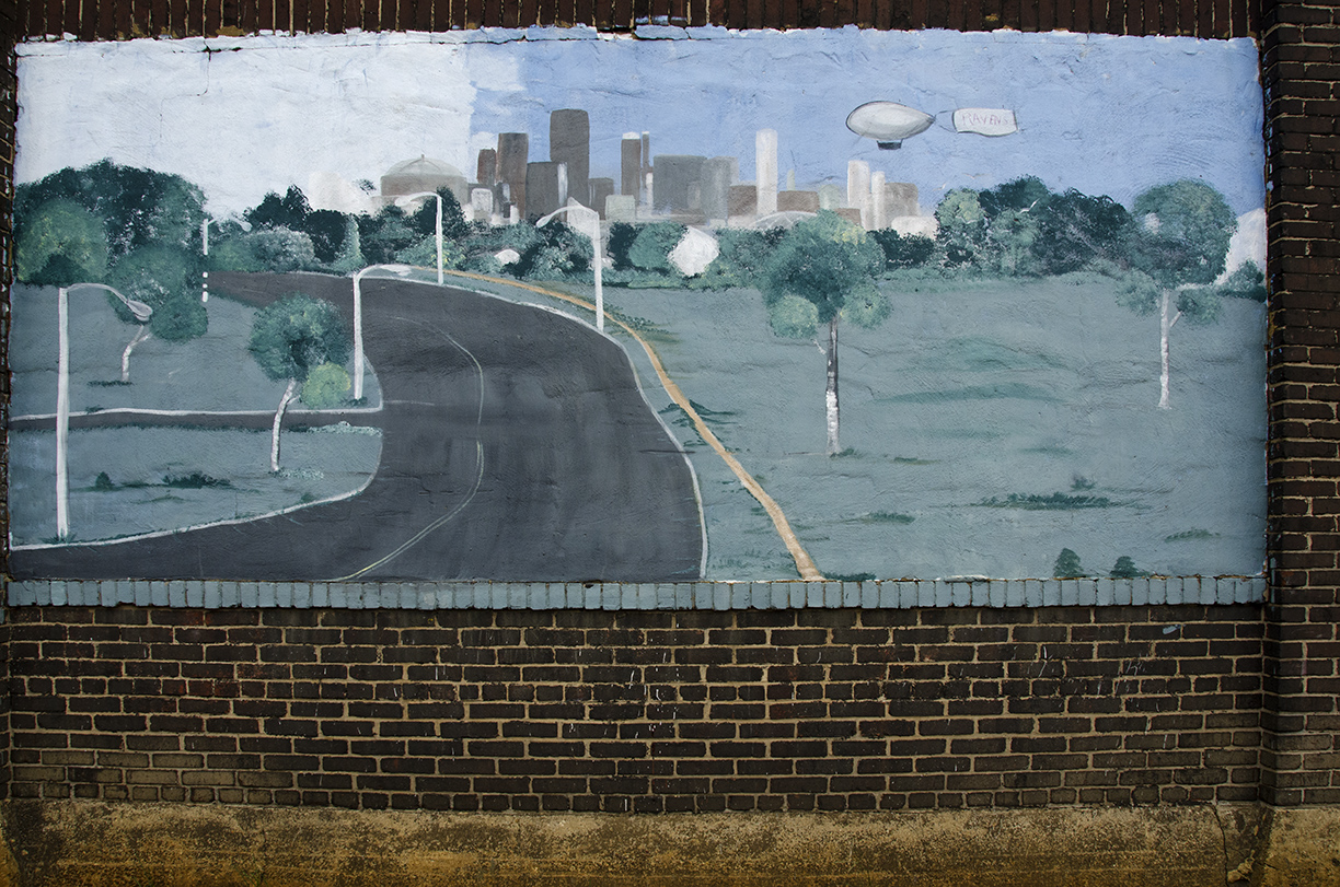 Community Murals by Peggy J. Ward